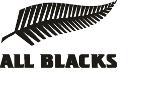 Наклейка all blacks