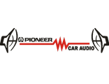 Наклейка pioneer car audio