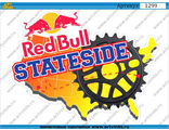 Наклейка red bull stateside