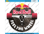 Наклейка Red Bull Feel the wheel