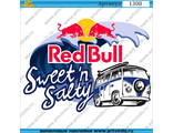 Наклейка Red Bull Sweetn Salty